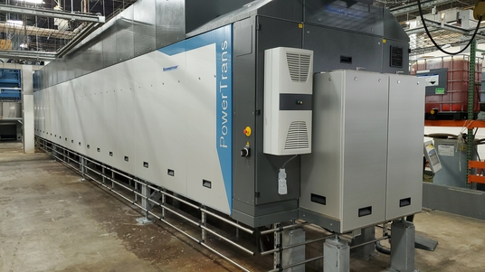 New Kannegiesser Tunnel Washing System